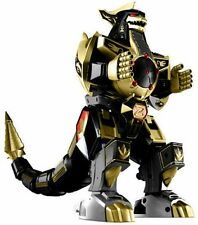 "Mighty Morphin Power Rangers 10"" Action Figure Legacy Dragonzord Gold Black"