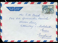 Belgium 1971 Commercial Air Mail Cover To England #C30717