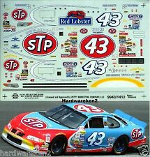 NASCAR DECAL #43 STP - RED LOBSTER 1999 PONTIAC JOHN ANDRETTI SLIXX