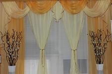 Gardine Store Querbehang Vorhang Gardinen- & Querbehang-Set Schal Fertiggardine