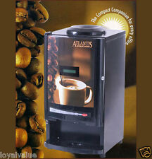 ATLANTIS Cafe Mini Tea Coffee Vending Machine 2 Line dispenser maker DIWALI GIFT