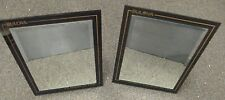 2 Vintage Bulova Watch Jewelry Store Counter Display Mirrors - Advertising