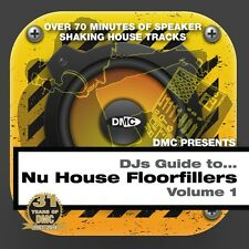 DMC DJs Guide ..... Nu House Volume 1 DJ Club Dance Deep House CD