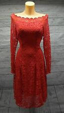 Beautiful Lace Bardot dress size 16