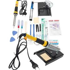 FZ-18 Electric Soldering Iron Station Kit with Desoldering Pump Stand 230V 60W