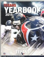2015 HOUSTON TEXANS YEARBOOK 192 PGS 2015-2016 SUPER BOWL CHAMPIONS?