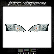 Fits 2005-07 Ford Focus ZX4 Headlight Headlamp Pair Left right set