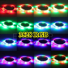 New 5M 10M 20M SMD 3528/5050/5630 300/600LED RGB RGBWW Strip String Lights Lamp