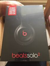 Beats by Dr. Dre Solo 2 Headband Headphones - Black NO RESERVE!