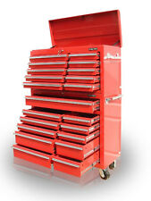 30 US PRO Tools Red Steel Chest Box Snap It Up cabinet toolbox FINANCE AVAILABLE