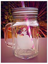 Personalised Engraved Cinderella Drinking Jar - New