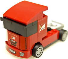 Lego V-power Scuderia Ferrari Truck 30191 Shell Racers Promo Polybag Set 2013
