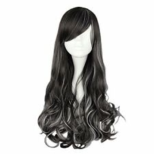 """3 Colors Cosplay Wig Party Wig Synthetic Hair 70cm/27.6"""" for Lolita/Zipper Wig"""