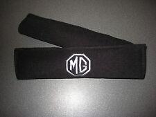 Cintura di Sicurezza Harness Pads in Nero con logo MG IN ARGENTO (MG ZR MG ZS, MG ZT loghi)