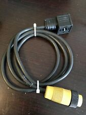 CNE MA6-V5 Solenoid Valve Cable 4ft, BEING SOLD AS 1 LOT