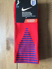 Nike England Performance Football Socks Mens UK 8-11 EUR 42-46