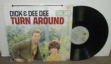 DICK & DEE DEE Turn Around, German vinyl LP, 1964, G+