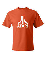 Atari Classic Retro Video Game Logo Adult T Shirt SM-5XL
