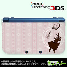 """""""NEW"""" Nintendo 3DS XL cover case hard Alice pink from Japan ds013"""