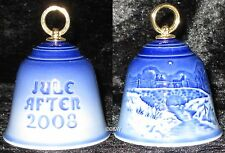 2008 BING & GRONDAHL WEIHNACHTSGLOCKE / CHRISTMAS BELL TOP 1. WAHL