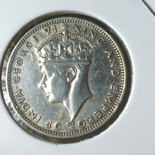 Straits Settlements KGVl  1939 20 cents Silver  coin  #2 ori/ lustre  !!