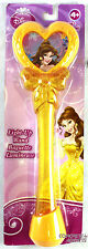 "Disney Princess Light Up 9"" Wand BELLE Flashing Red & Blue by Blip Toys NEW"