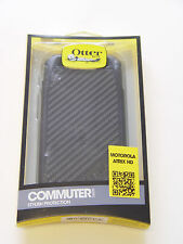 OtterBox Commuter Series for Motorola Atrix HD - Retail Packaging - Black
