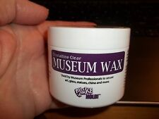 CLEAR MUSEUM WAX FOR YOUR DOLL HOUSE MINIATURES - 2 OZ.