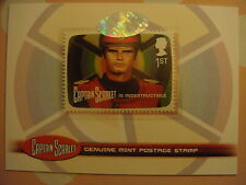 CAPTAIN SCARLET: POSTAGE STAMP CARD: PS1