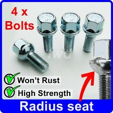 4 x ALLOY WHEEL BOLTS FOR SMART FORTWO COUPE CABRIO / BRABUS NUT STUD LUG [Y10]