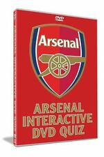 Arsenal Interactive Quiz DVD Sports New and Sealed Original UK Release R2