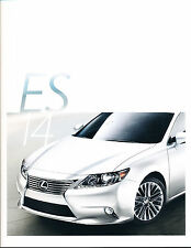 2014 Lexus ES ES350 ES300h Hybrid 28-page Original Car Sales Brochure Catalog