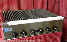 "NEW 36"" Radiant Gas Char Broiler Grill Stratus #1186 Commercial Restaurant Steak"