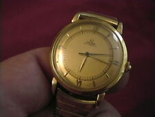 1945 OMEGA Automatic 18K Solid Gold 17 Jewel Bumper Watch 10,252,376 Was Dad's