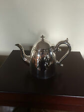 LOVELY SILVER PLATED BEEHIVE SHAPED TEAPOT   SPTP 6229