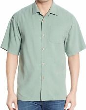 TOMMY BAHAMA ~ Men's 'Java Dobby' Original Fit Silk Camp Shirt ~ Medium ~ $98