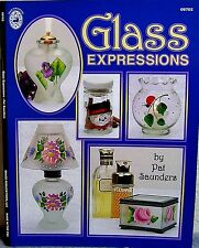 """Glass Expressions"" Decorative Painting Project & Pattern Book by Pat Saunders"