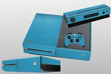 Carbon fibre for Xbox One Console Kinect Controller Protector Skins Sticker