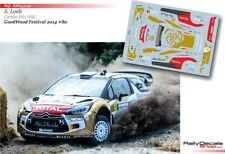 Decal 1/43 RDS43030 Sebastien Loeb - Citroen DS3 WRC - Festival Goodwood 2014