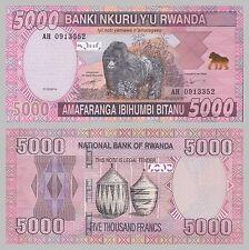 Ruanda / Rwanda 5000 Francs 2014 unc.