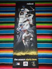 MLB OPENING SERIES LA Dodgers v Arizona Diamondbacks Baseball Poster 154x49cm