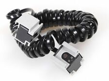 2-HOT-SHOE SYNC CORD FOR CANON