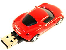 Alfa Romeo 4C 4GB USB 2.0 Memory Stick Dongle Car Shape Red New Genuine 5916741