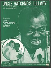 Uncle Satchmo's Lullaby 1959 Louis Armstrong Gabriele Clonisch German & English