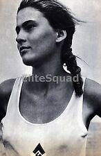 WW2 Photo Beatiful member of Bund Deutscher Madel Young women League 633