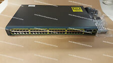 Cisco WS-C2960S-48TS-L Gigabit switch + brackets 2960S-48TS-L