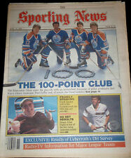 April 14. 1986 The Sporting News WAYNE GRETZKY  Edmonton Oilers