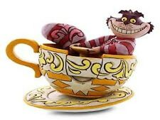 Jim Shore Cheshire Cat Alice Wonderland Disney Traditions Mad Tea Party 4032117