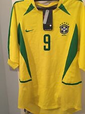 Brazil 2002 Ronaldo Nike World Cup Shirt Size Medium