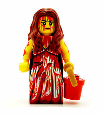 Lego figurine-carrie limited edition figure stephen king horreur rare